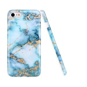 NEW Marbled blue/gold iPhone 6/6s plus phone case